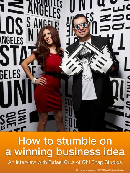 Stumble on a Winning Photography Business Idea
