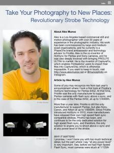 Article by Alex Munoz page 1