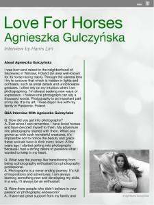 Interview with Agnieszka Gulczyńska page 1