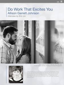 Interview with Allison Garrett Johnson page 1