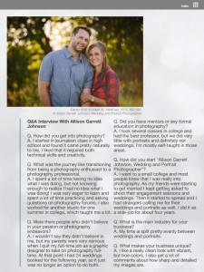 Interview with Allison Garrett Johnson page 2